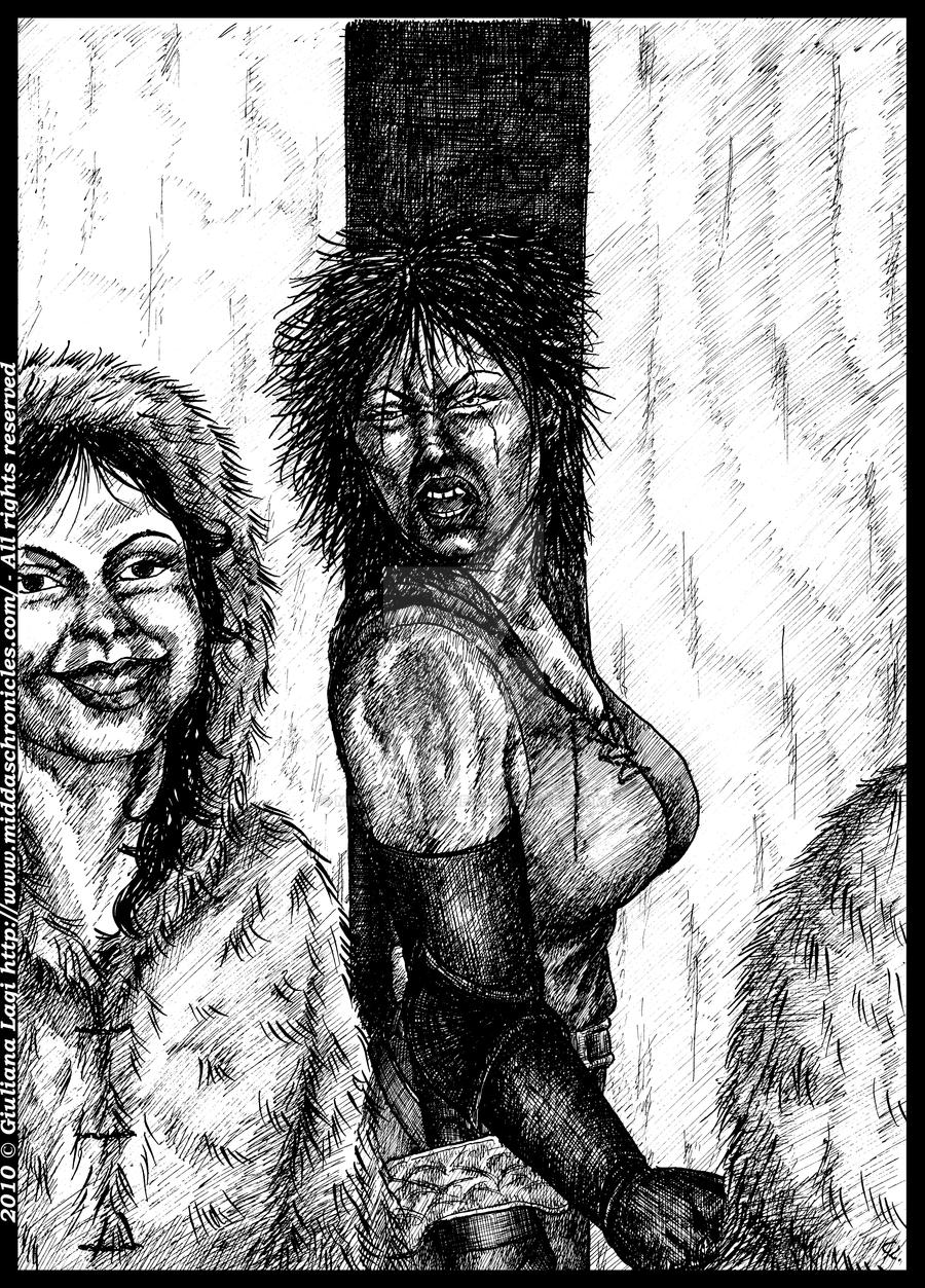 A problem of... breast: unpublished art from B.III by middaschronicles
