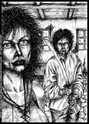 Duel: an unpublished art from Book III