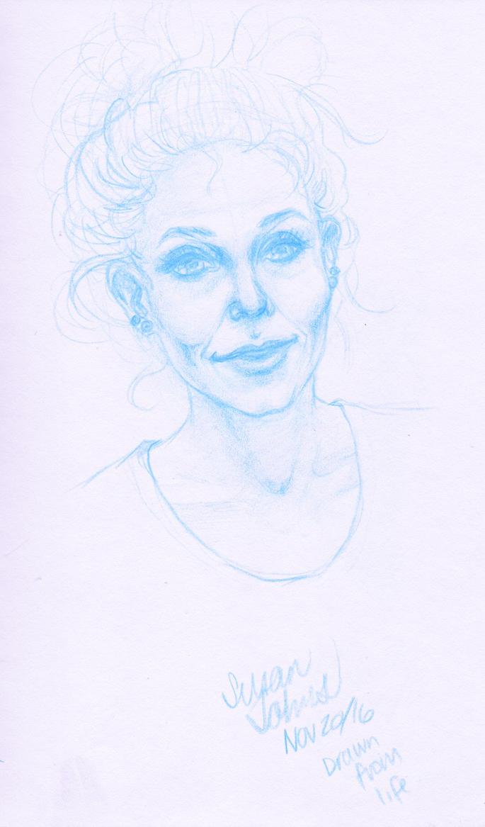 Self-Portrait by SusanJohns