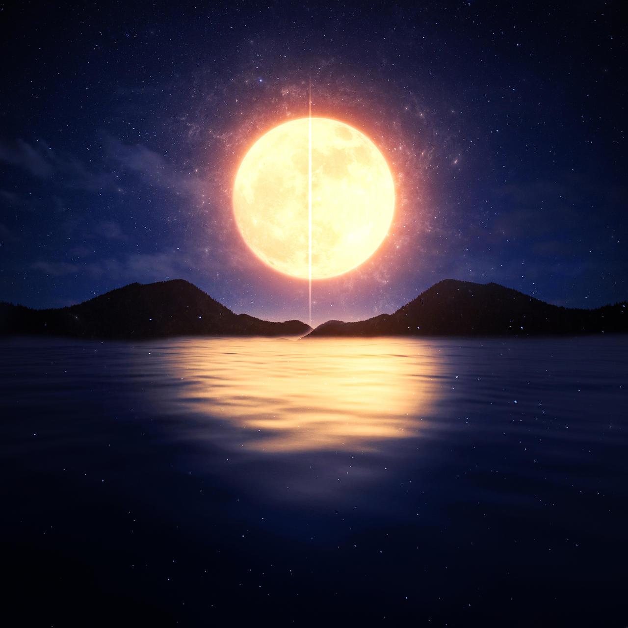 Quiet Night at Sea