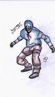Left 4 Dead Hunter Doodle by EmoHoodieDude
