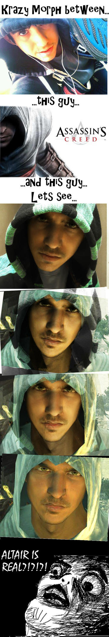 Doppelganger Draco/Altair face MORPH by EmoHoodieDude