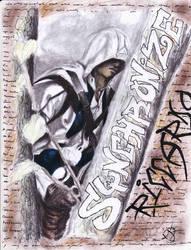 Riccardo Sychronizing Disegno by EmoHoodieDude