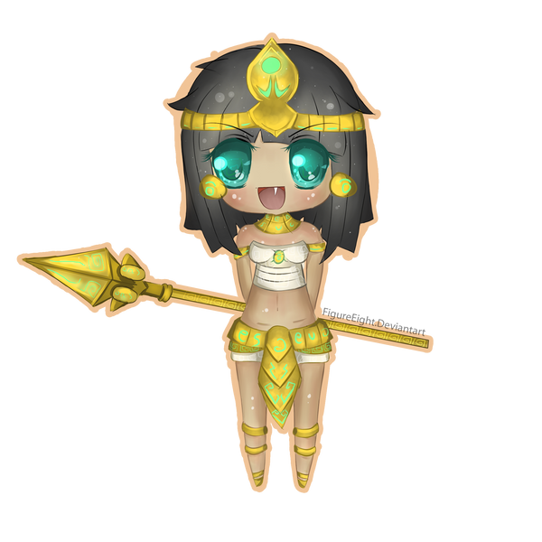 Pharaoh Nidalee Chibi by FigureEight