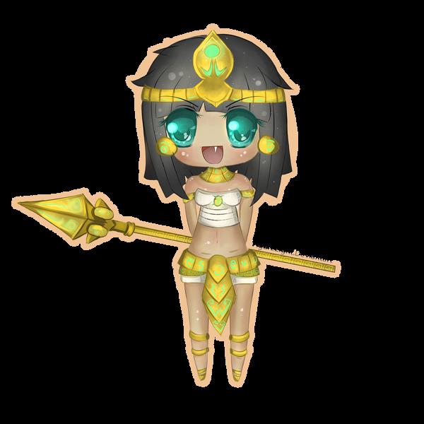 Pharaoh Nidalee Chibi by FigureEight