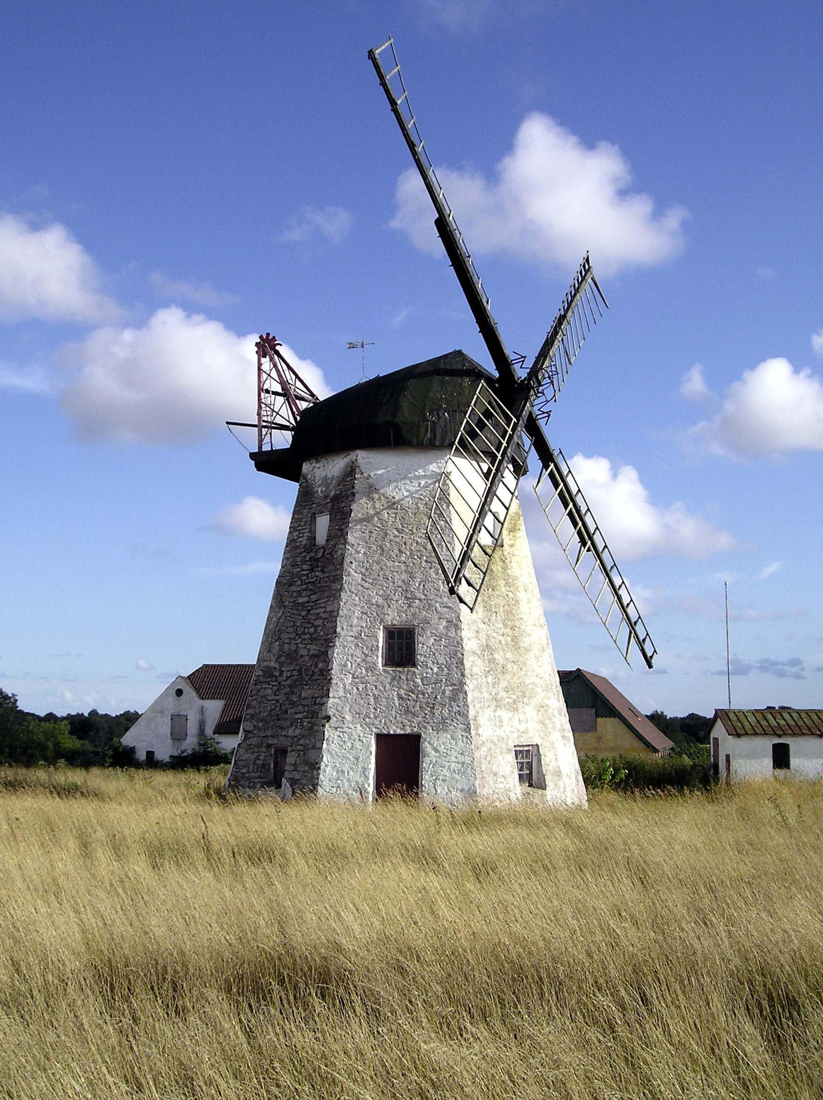 Windmill on Bornholm. by andresto