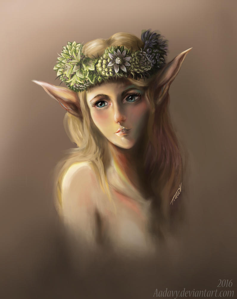 Very Late Afternoon of a Faun by Aadavy