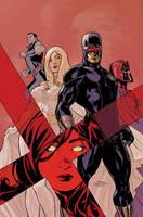 Uncanny X-Men 526 Cover INPROG by TerryDodson