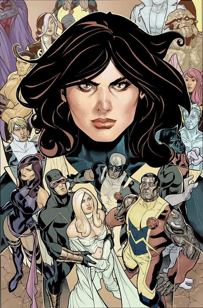 Uncanny X-Men 522 Cover Art by TerryDodson