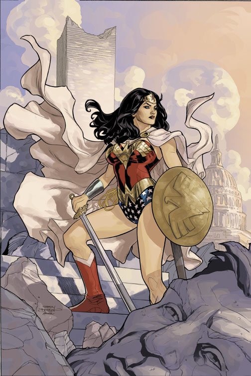 Wonder Woman 13 Cover by TerryDodson