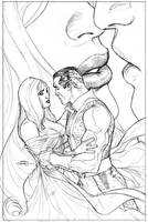 Uncanny X-Men 527 Cover Pencil by TerryDodson