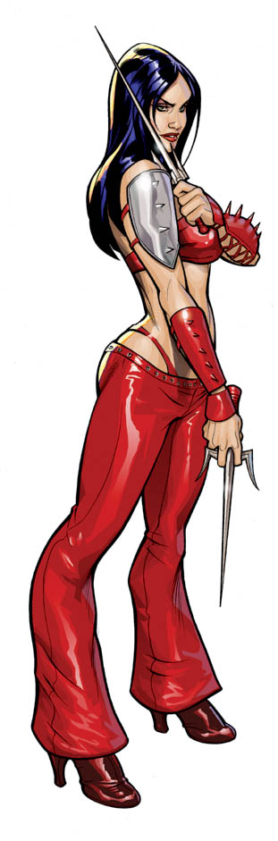 Elektra Color by TerryDodson