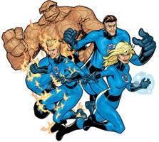 Fantastic Four Color by TerryDodson