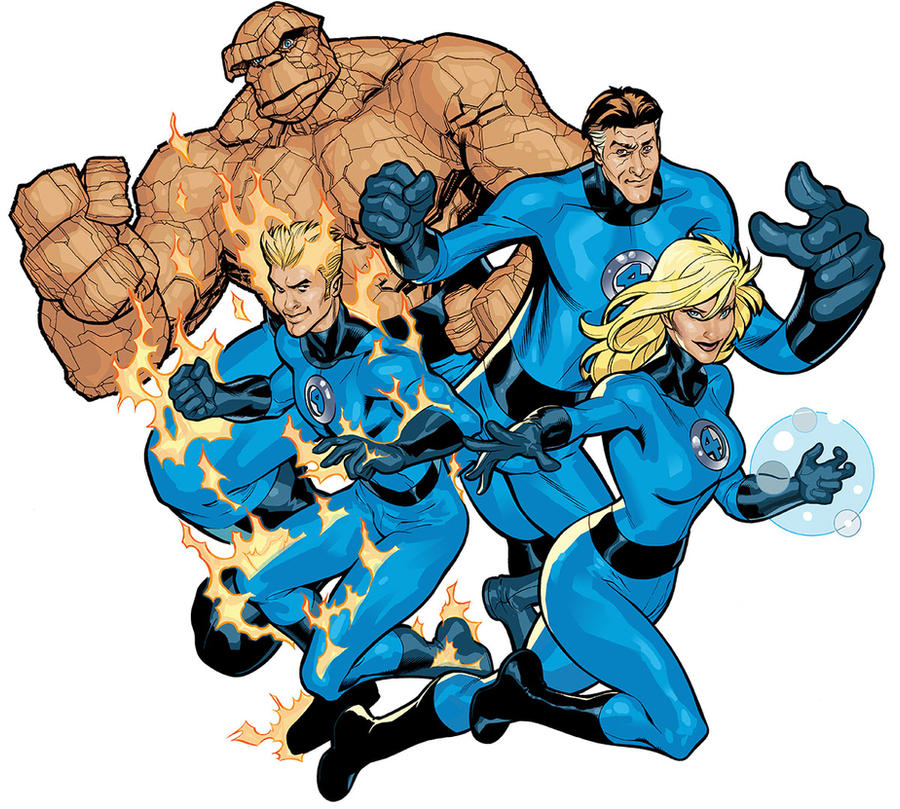 Fantastic Four Color by TerryDodson