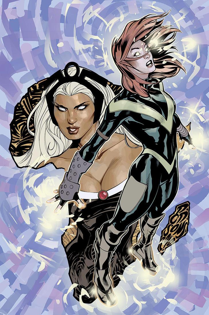 Uncanny X-Men 528 Cover INPROG by TerryDodson
