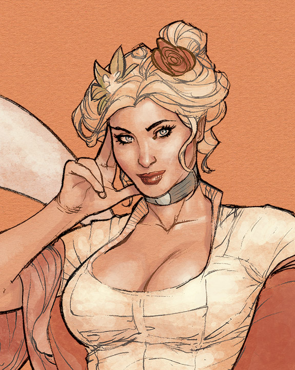 Sketchbook Cover Preview by TerryDodson