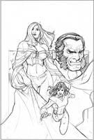Uncanny X-Men 529 Cover Pencil by TerryDodson