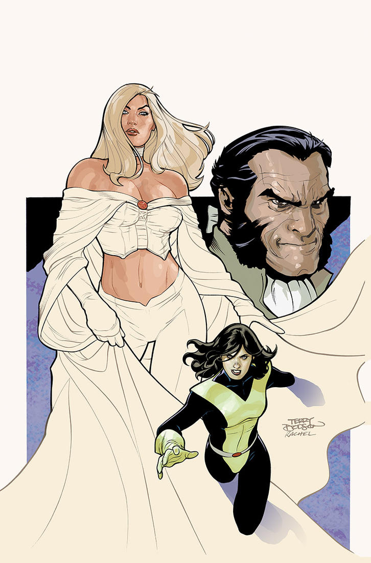 Uncanny X-Men 529 Cover INPROG by TerryDodson