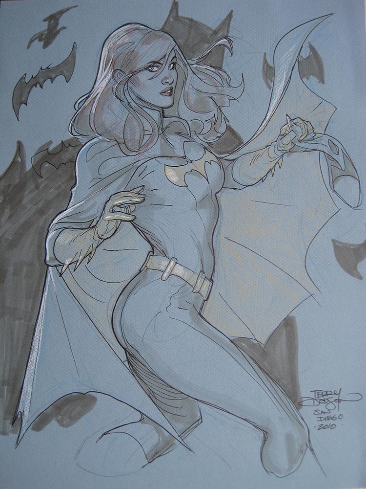 Batgirl San Diego 2010 by TerryDodson