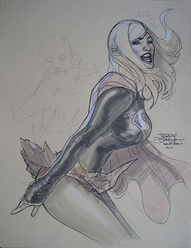 Supergirl San Diego 2010 by TerryDodson