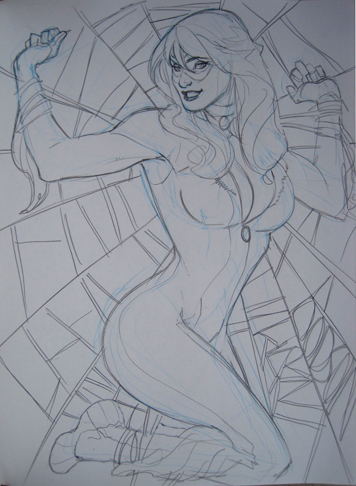 Black Cat San Diego 2010 by TerryDodson