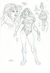 Wonder Woman Toy Design by TerryDodson