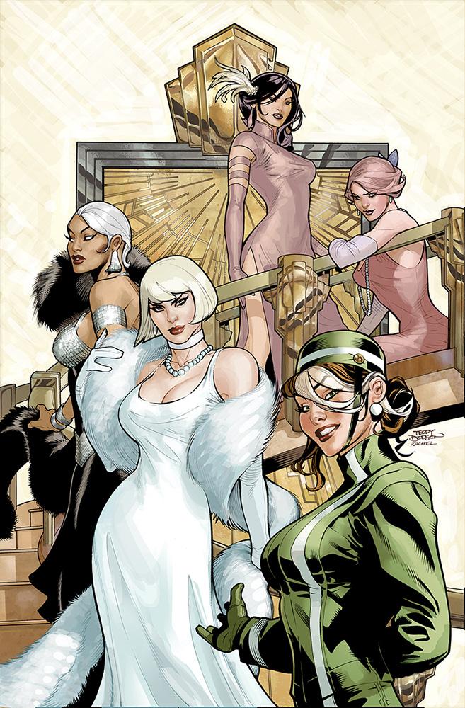 Uncanny X-Men 504 Cover Final by TerryDodson