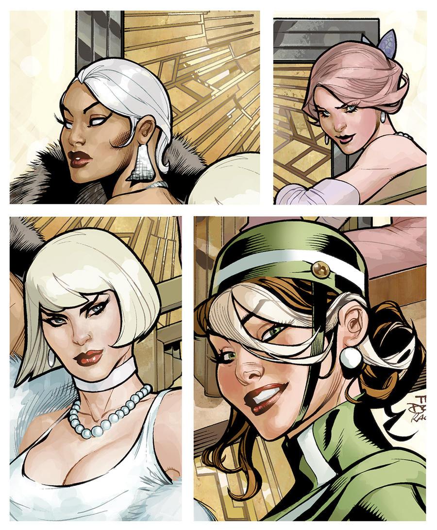 Uncanny X-Men 504 Cover Detail by TerryDodson