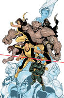 Young X-Men 1 Cover Final by TerryDodson