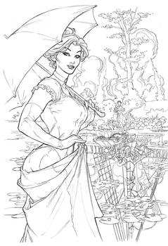 Songes Coraline Cover Pencil by TerryDodson