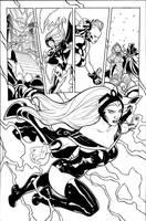 Storm Origin Ink by TerryDodson
