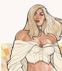 Uncanny X-Men 529 Emma Detail by TerryDodson