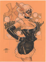 Black Cat Can Can NYCC 2010 by TerryDodson
