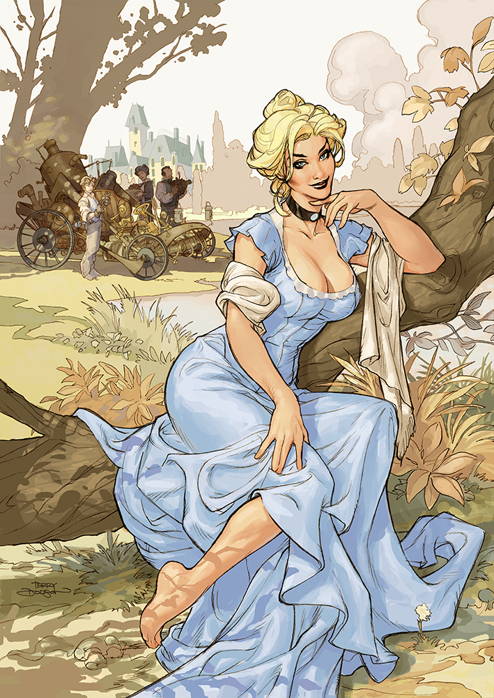 Songes Sketchbook Cover Final by TerryDodson