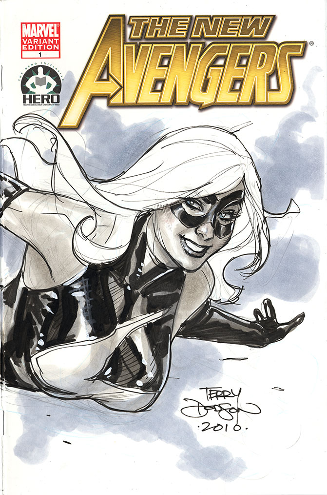Ms. Marvel Cover Detail by TerryDodson