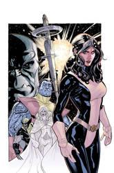 Uncanny X-Men 535 Color WIP by TerryDodson