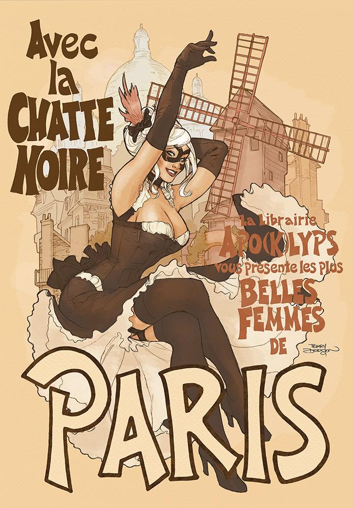 Chatte Noire Paris by TerryDodson