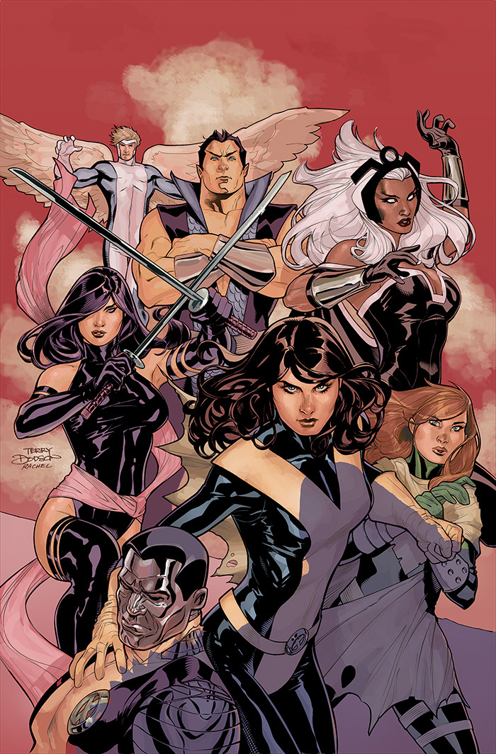 Uncanny X-Men 538 Cover Final by TerryDodson