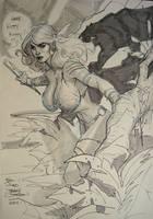 Shanna the She Devil SDCC2011 by TerryDodson