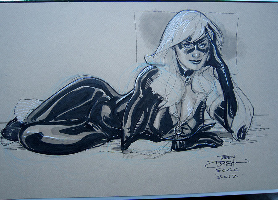 Black Cat ECCC 2012 by TerryDodson