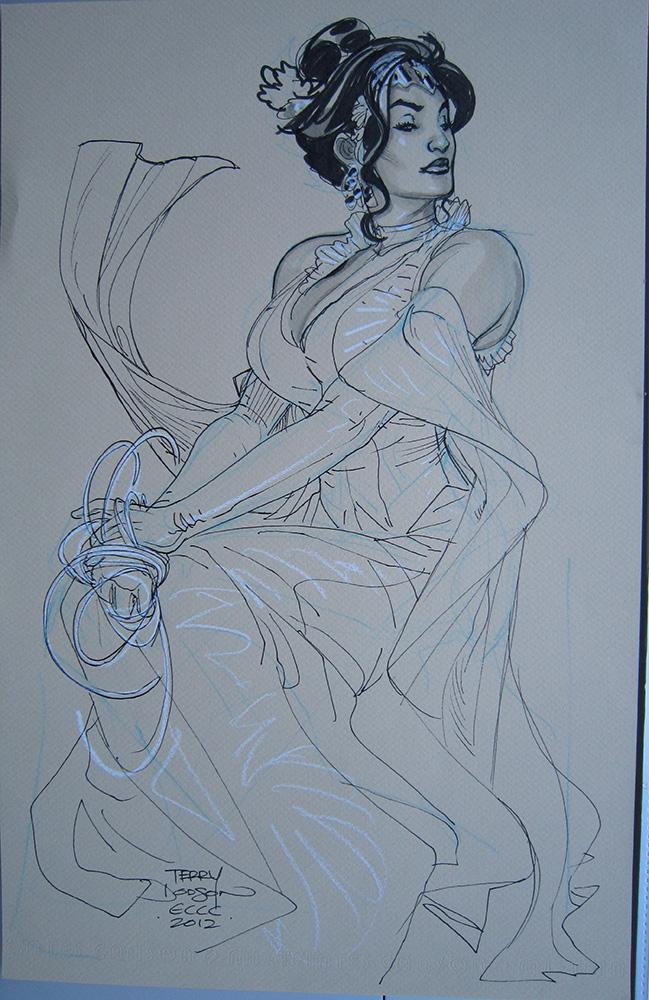 Wonder Woman ECCC 2012 by TerryDodson