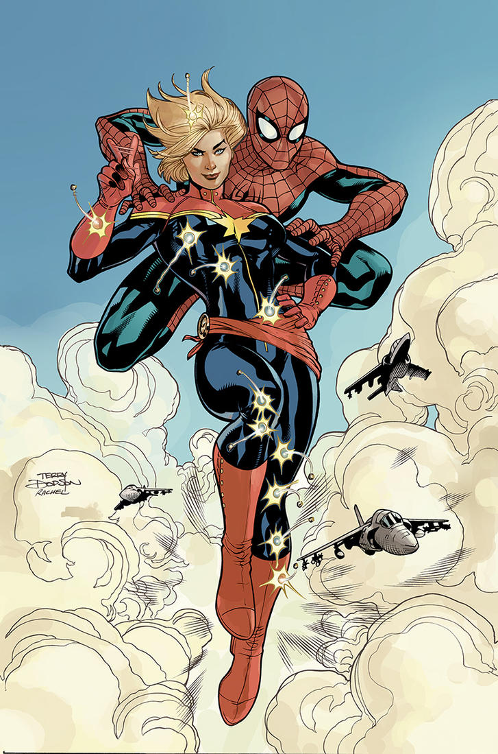 Avenging Spider-Man #9 Cover Colors WIP by TerryDodson