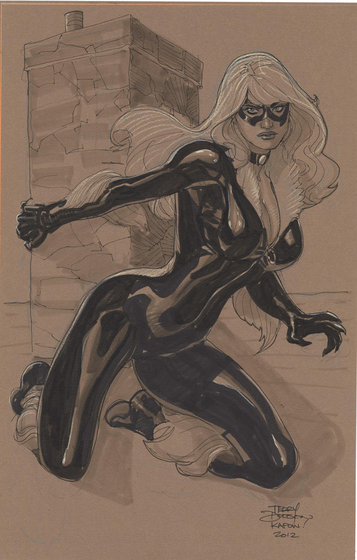 Black Cat  KAPOW! 2012 by TerryDodson