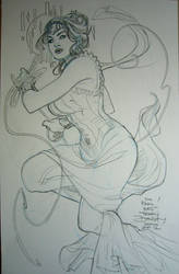 Art Nouveau Wonder Woman Kapow! 2012