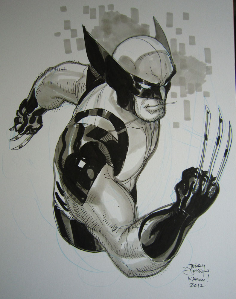 Wolverine Kapow! 2012 by TerryDodson