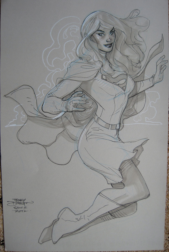 Supergirl San Diego 2012 by TerryDodson