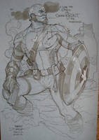 Captain America SDCC 2012 by TerryDodson