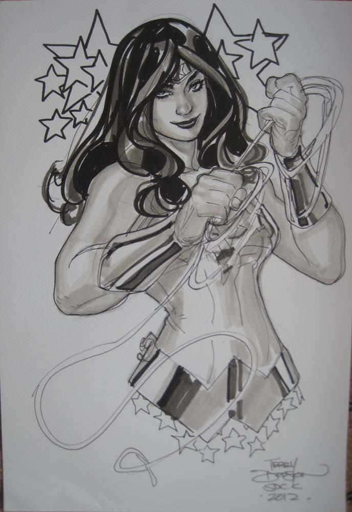 Wonder Woman SDCC2012 by TerryDodson