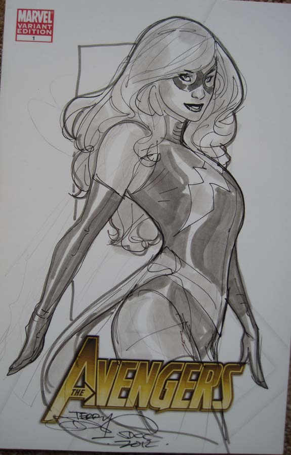 MS Marvel SDCC2012 by TerryDodson