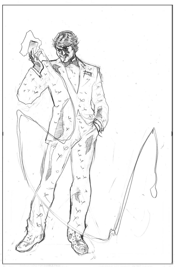 Gambit #5 Cover Pencils by TerryDodson